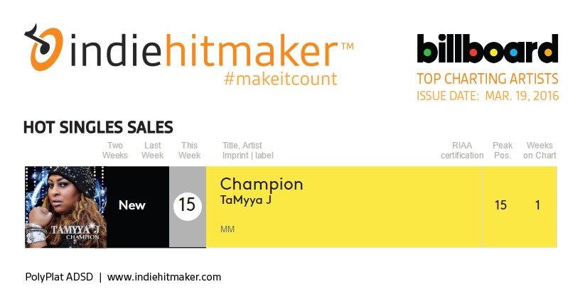 Indiehitmaker_Weekly_Charts_Billboard_031916_TaMyyaJ
