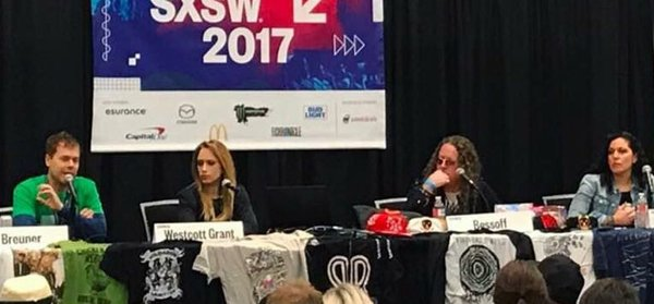 SXSW 2017 Direct to fan engagement panel and merch gallery