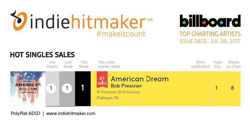 bob pressner american dream billboard charts