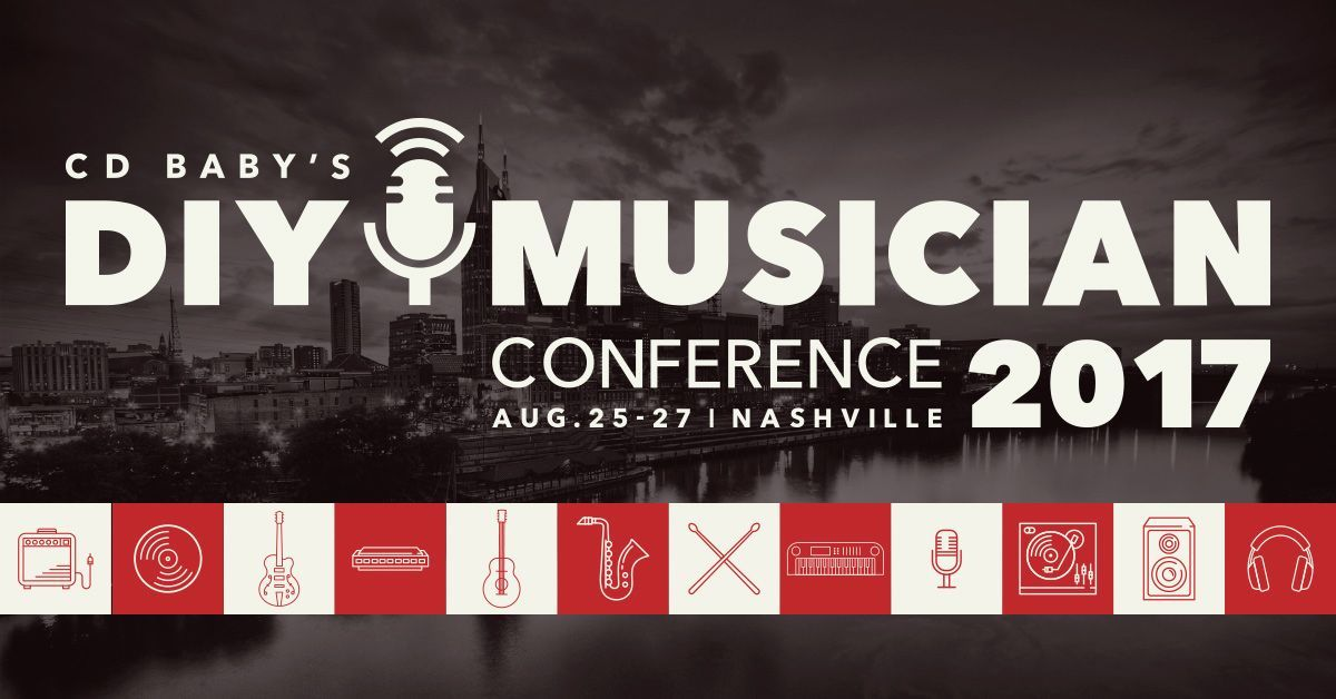 DIY Musician Conference 2017 banner