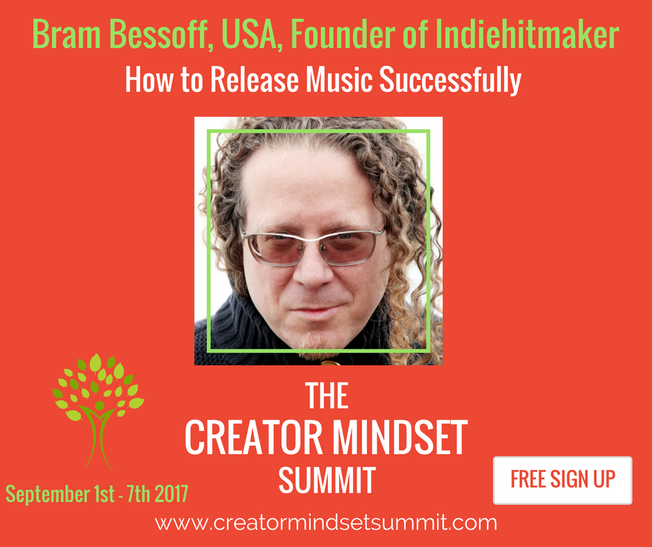 Creator Mindset Summit features Bram Bessoff founder of indiehitmake
