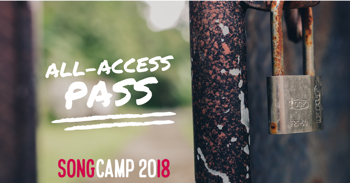 song camp 2018 all access pass