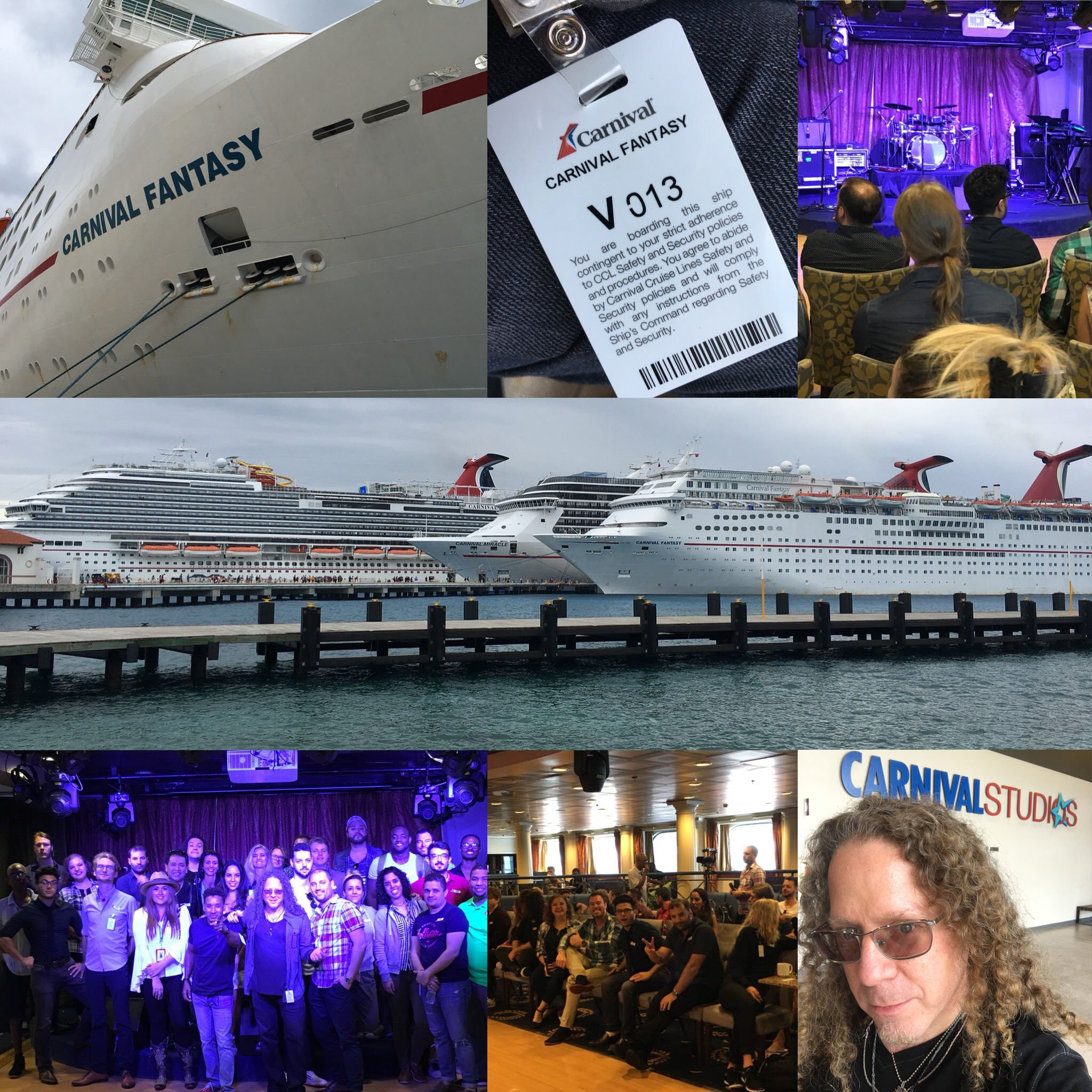 Carnival Cruise Line brings Bram onboard to make their live shows count