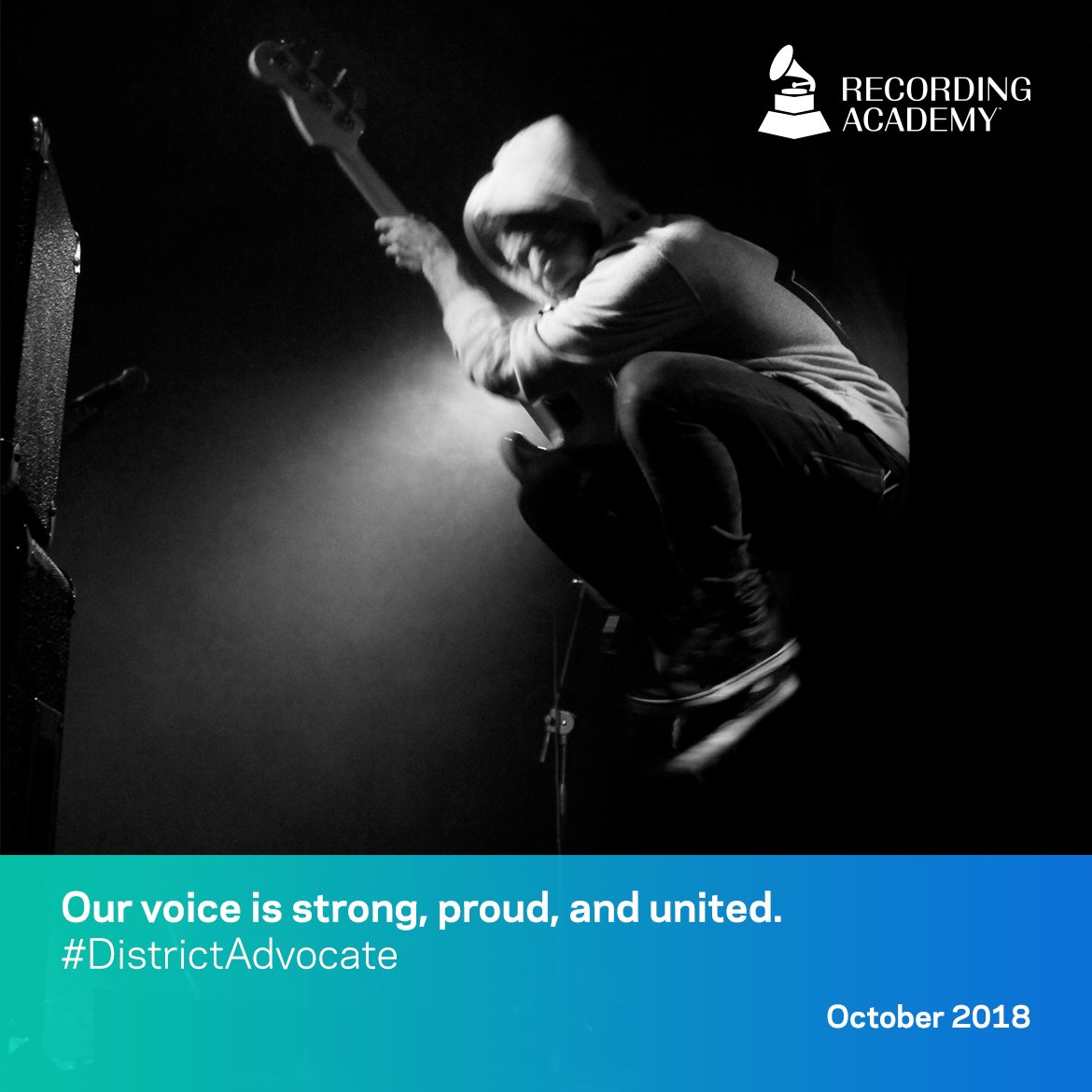 music modernization act - our voice is strong, proud and united
