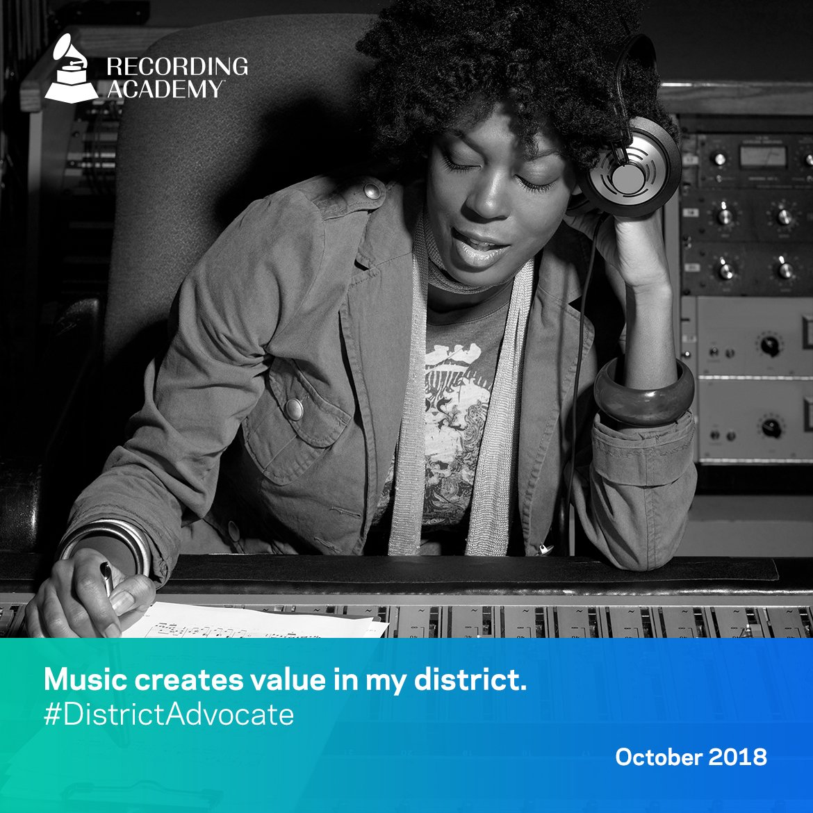 music modernization act - music creates value in my district