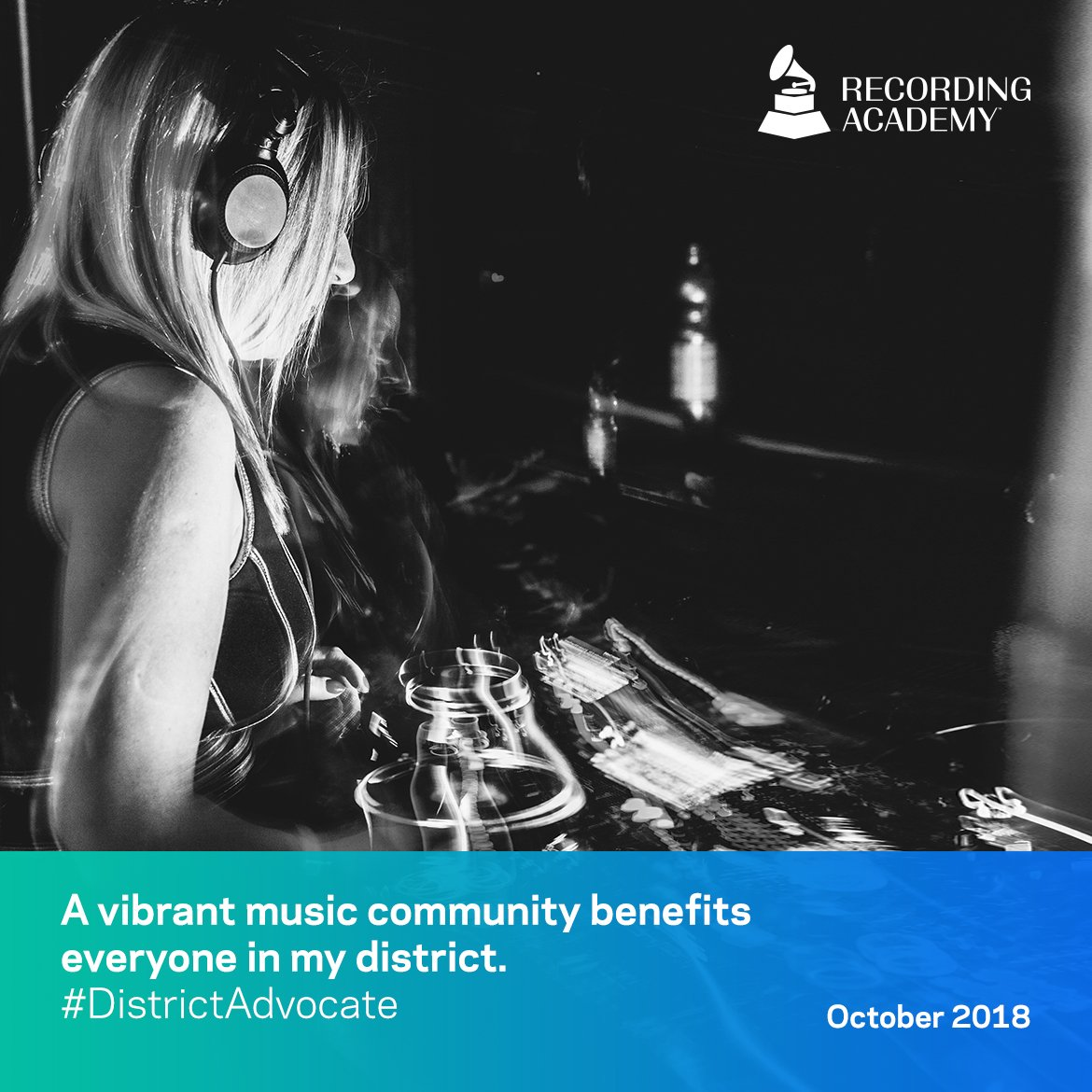 muaic modernization act - a vibrant music community benefits everyone in my district