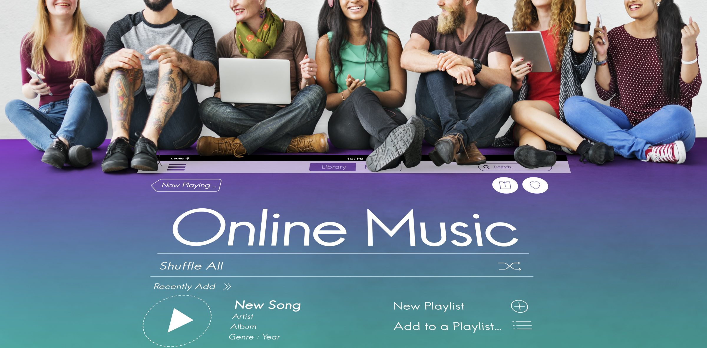 generate revenues with online streaming with your music catalog