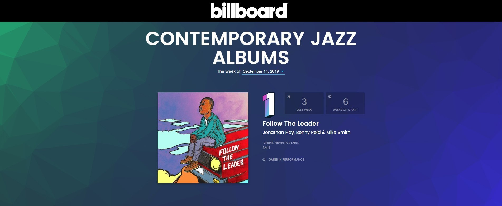 FYC19 Follow The Leader Billboard Number One